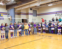 IMS Volleyball 8th Grade Night W / Parents 2/13/13