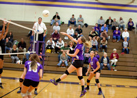 CHS Sophomore Volleyball vs Galesburg 10/21/13